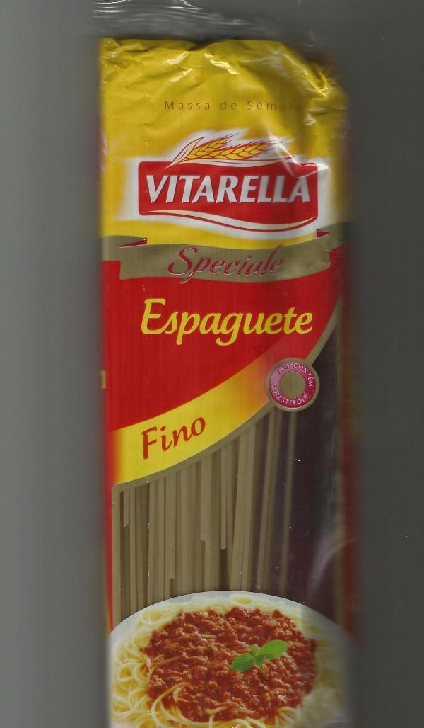 Resultado de imagem para macarrão espaguete vitarella